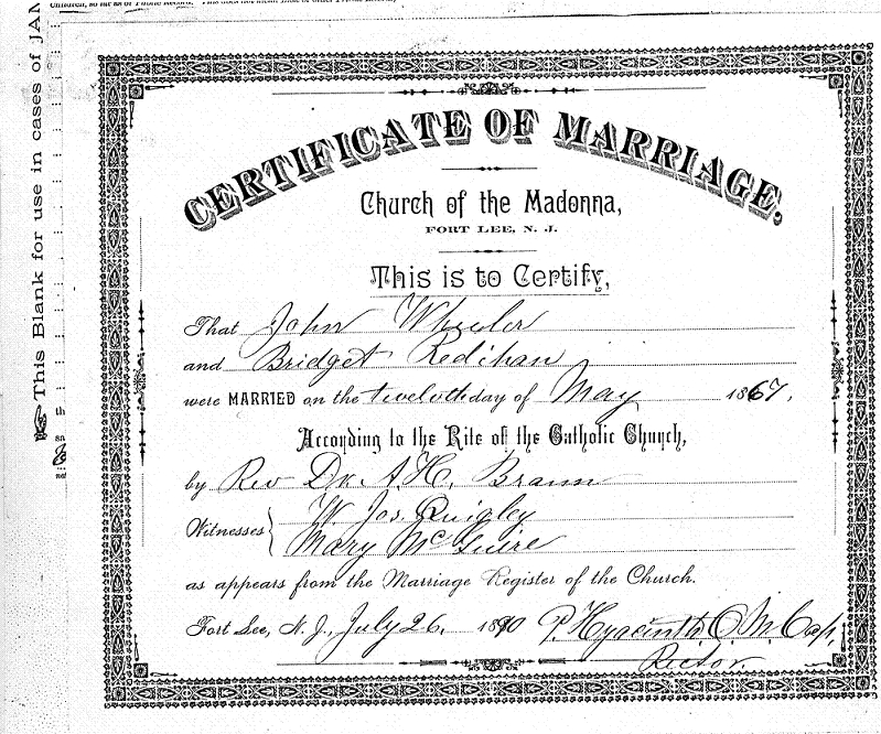 Washington County Maryland Marriage Records Marriage Certificate